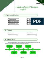 R014_How Can I Work on TesysT Custom Logic