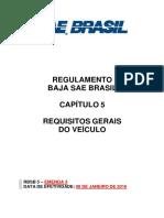 RBSB 5 - Requisitos Gerais Do Veiculo - Emenda 3