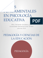 Temas Fundamentales en Psicología Educativa