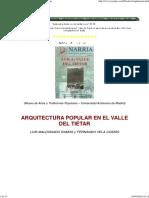 Arquitectura Del Valle Del Tietar