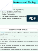 PLD Architectures and Testing
