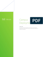 Meraki Campus Deployment Guide