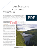 Adiciones de Humo de Silice Para El Concreto