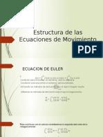 Estructura de Las Ecuaciones de Movimiento