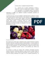 Produccion Local y Alimentos de Entorno