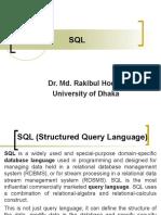 Structured Query Language slides