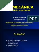 Biomecanica Equilibrio & Alavanca