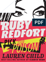 Ruby Redfort Pick Your Poison by Lauren Child Chapter Sampler