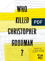 Who Killed Christopher Goodman? by Allan Wolf  Chapter Sampler