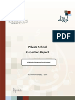 ADEC - Al Manhal International Private School 2015 2016