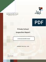 ADEC - Al Murooj Scientific Private School 2015 2016