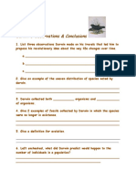 darwin s natural selection worksheet