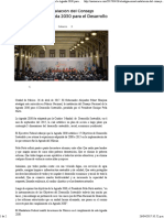 Oaxaca Atestigua Murat Instalacion Agenda 2030
