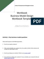 Business Model Process WorkbookTemplate(Updated)