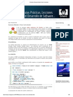 Ejemplo Modelo Vista Controlador_CoDejaVu