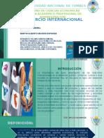 Comercio Internacional Trabajo de Economia Genearl