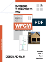 DA 5 - Inscribed Versus Separate Structures in the WFCM