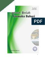 Jurnal Farmako Bahari Vol. 6 No. 1 Januari 2015