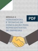 M4 Ferramentas e Tecnicas de Conciliação Para Representantes de Empresas
