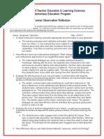 postobservationreflection culture lesson