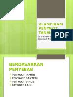 1. Klasifikasi Penyakit Tanaman