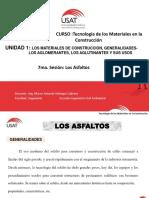 Sesion 7 - Los Asfaltos