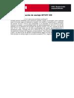 HILTI SAFEset. Textos de especificación HY-200+HIT V.doc