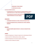 Bases Proyecto Chilecito