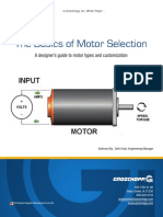 Servomotor_the Basic of Motor Selection