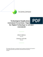 tecnology to advance assessment