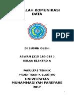 Makalah Komunikasi Data (Aswan)