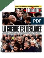 Libération Du Jeudi 27 Avril 2017