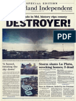 Maryland Independent's La Plata Tornado coverage