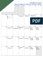 calendar 2k17 -- kii