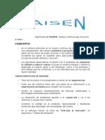 Informe de Kaisen