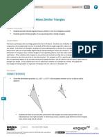 Module on Similar Triangles