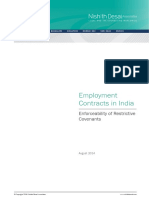 Employment Contracts in India