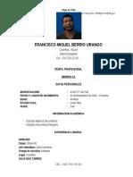 Hoja de Vida Francisco Berrio