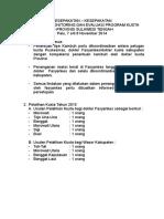 Kesepakatan Program Kusta November 2014