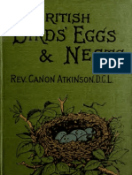 (1898) British Birds' Eggs and Nests