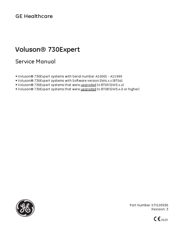 ge voluson 730 ultrahang service manual pdf electronics science rh scribd com Used GE Voluson 730 GE Voluson 730 Los Angeles