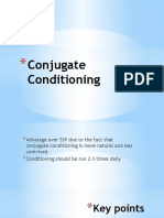 conjugate conditioning presentation