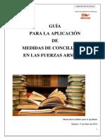 Guia Medidas Conciliacion 2015