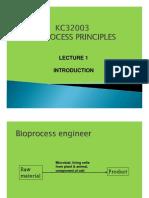 Lecture 1 bioprocess