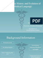 universal medical language
