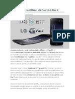 Desbloquear  Hard Reset LG Flex y LG Flex 2.docx