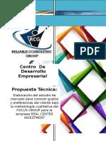 Propuesta de Consultoria Mediante La Metod. Focus Group