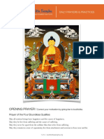 Bodhicitta Sangha Daily Prayers and Practices