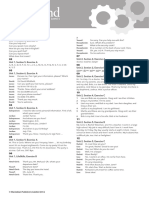 OpenMind 2 Student's Book Grammar Reference Answer Key