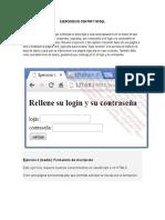 Ejercicios01 Con PHP y MySQL